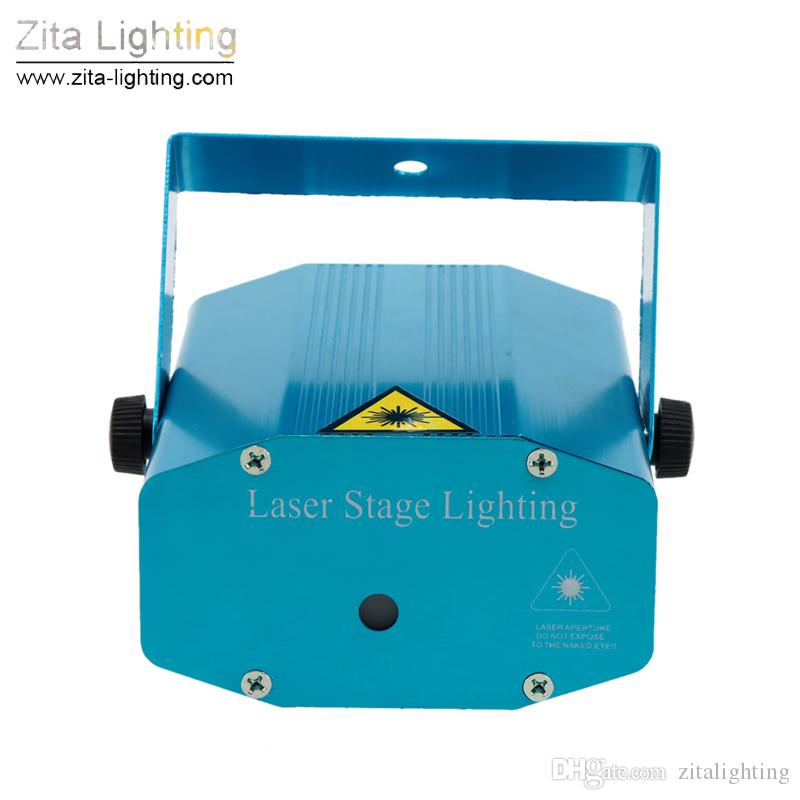 32 Pçs / lote Zita Iluminação Mini Laser Lights 150 W M Movente Vermelho Verde Laser Feixe de Iluminação de Palco Tripé Equipamentos Blink DJ Disco Dance Party