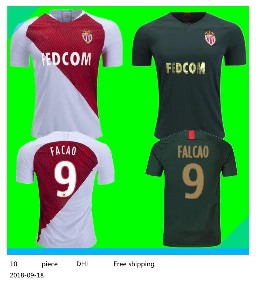 43383a37b ... promo code for 2018 2019 as monaco jersey men ligue 1 soccer 9 falcao  10 jovetic