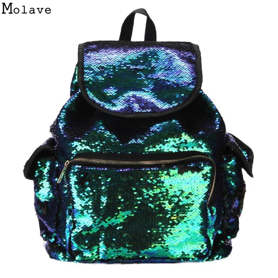 fc04ce36387a Womens Fashion Bags Girls Sequins Backpack Paillette Leisure School Bookbags  4 Type Backpack Ladies Bags For Teenager D35J14 Backpack Purse Dog Backpack  ...