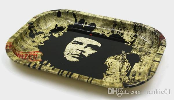 Big Mini Rolling Tray Placa de Almacenamiento de Tabaco Discos Adecuados para Humo Rodante Hierba Molinillo de Tabaco Tubería de Agua Bong Accesorios