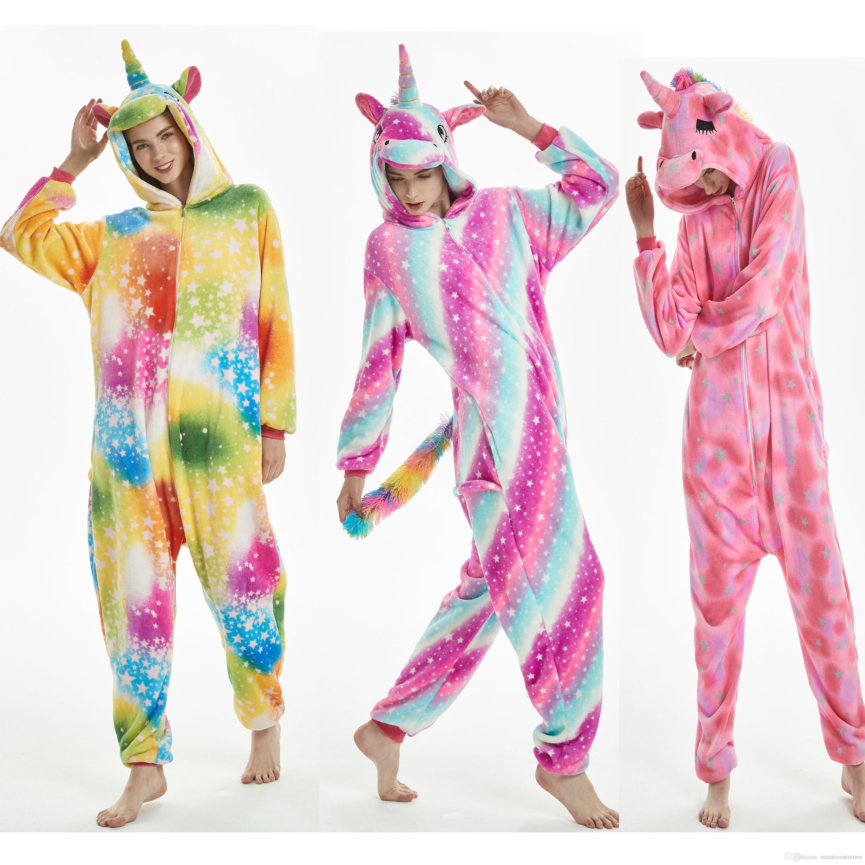b8b08fa1e96c Newest Designs Of Unisex Adult Size Unicorn Animal Onesie Kigurumi ...