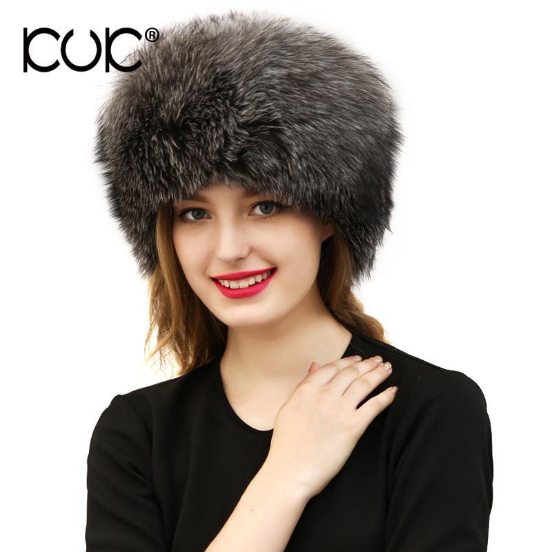 Kuk Autumn Winter Hats For Women Balaclava Beanies For Ladies 2017 Black  White Gray Warm Fox Fur Hat Skull Cap A548 Crazy Hats Mens Beanies From  Xiacao 107d9bbff3d