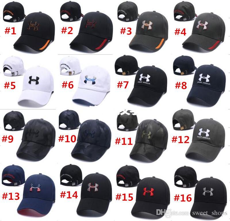 585a31dbc9e Brand Under Baseball Cap Snapbacks Unisex Men Women Visor Caps Hat ...