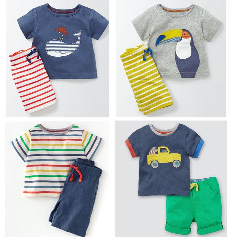 c4d94a195e75 2019 New 2018 Brand Quality 100% Cotton Baby Boys Clothing Sets ...
