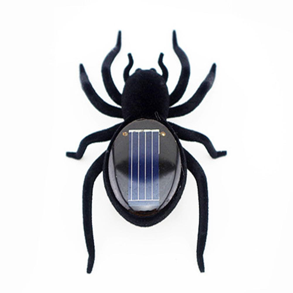 New Novelty Creative Gadget Solar Power Robot Insect Car Spider For Project Childrens Christmas Toys Gifts Xmas Festival Powered Bobble Toy