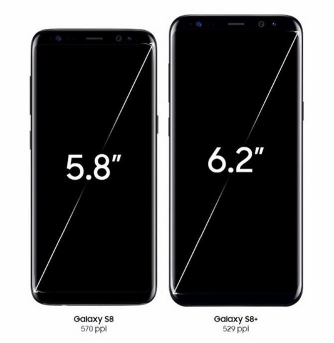 Original Samsung Galaxy S8 Além disso G955U G955F Octa Núcleo 64 GB 12MP 6.2