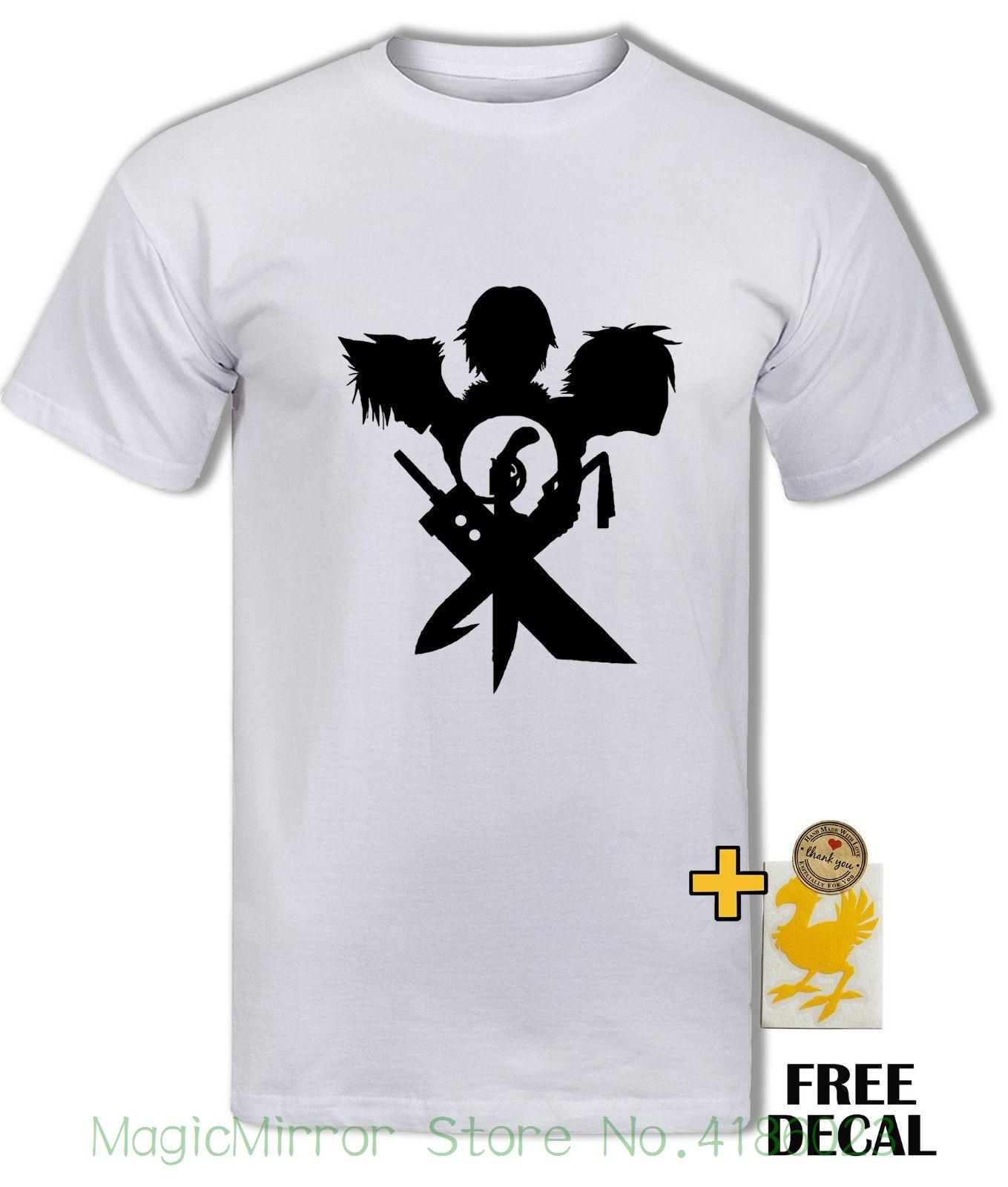 Großhandel Final Fantasy T Shirt Wolke Squall Tidus Schwerter Ff7 Ff9 Ff10,  Gamer T Shirt Herren Herren T Shirts Sommer Hipster Von Magicmirrorstore,  ... 6b93e3ab57