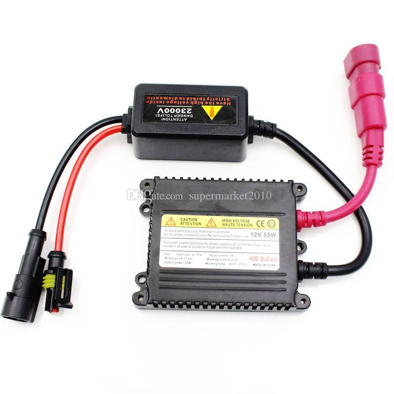xenon headlight h7 55w Car 12v HID kit H1 H3 H8 H9 H10 H11 9005 HB3 9006 Hb4 880 881 H4 H4-3 bixenon Slim Ballast