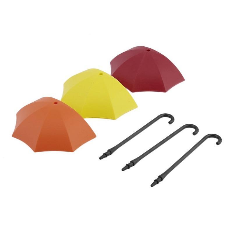 Nouveau Hot one set / Coloré Parapluie Mur Crochet Clé Broche À Cheveux Titulaire Organisateur Décoratif Rack