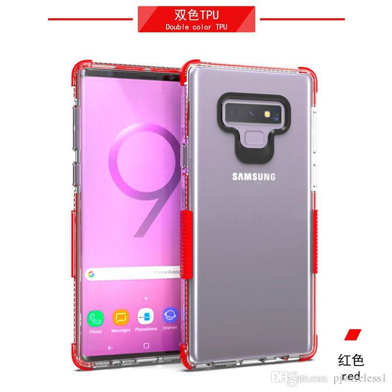8ec5d3caed1 Estuches Para Celular Funda Para Teléfono Móvil Samsung Galaxy A6 2018  Metropcs A Prueba De Golpes, Antideslizante, Gruesa, Transparente,  Transparente, ...
