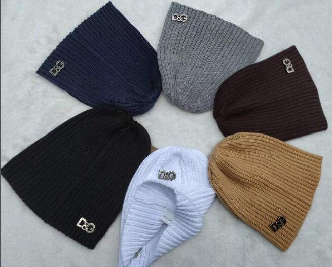 d45d79eba3f 2018 Newest Unisex Autumn Winter Men Brand Knitted Hat Women Fashion ...