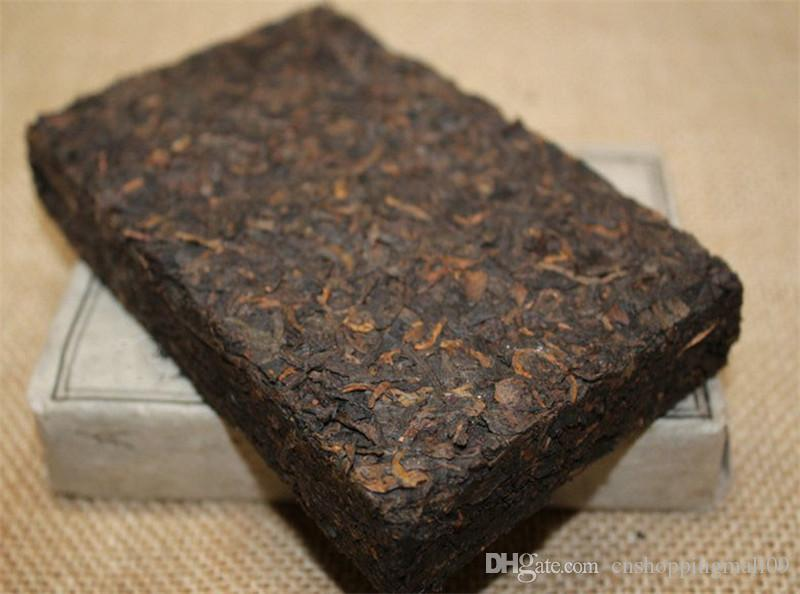 250g Reifer Pu Erh Tee Yunnan 1962 Jujube Duft Puer Tee Bio Pu'er Ältester Baum Gekochter Puer Natürlicher Pu Erh Ziegel Schwarzer Puerh Tee