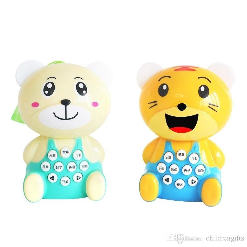 a9a5dd1c3b42f Children Story Early Learning Machine Mini Bear Tigers Preschool Toys Baby  Kids Science Education