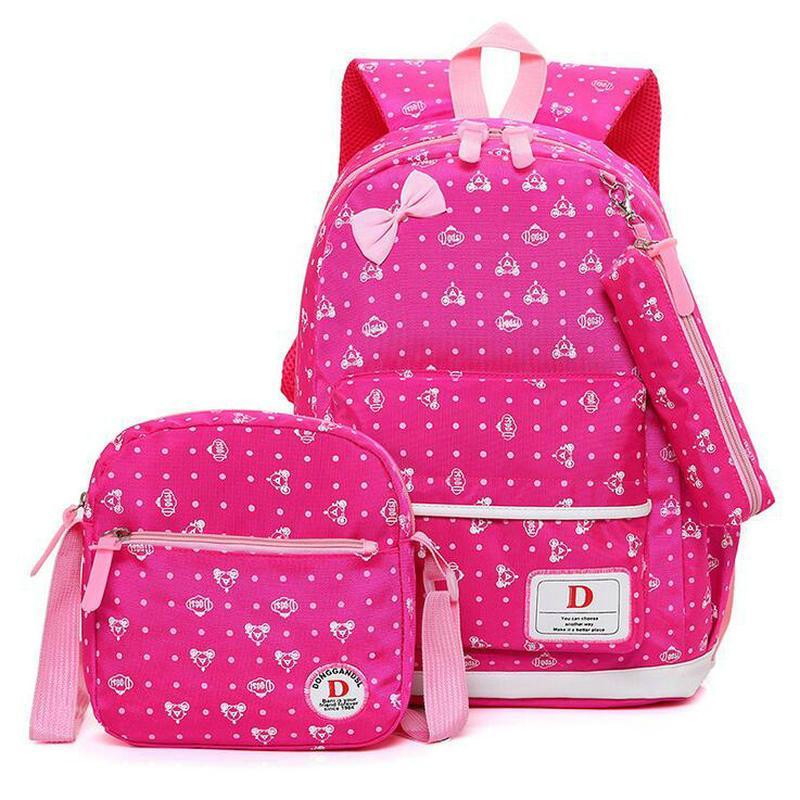 603da40d56 Fashion Children School Bags Teenagers Girls Printing Rucksack School  Backpacprincess Kids Travel Backpack Children School School Backpack School  Bags ...