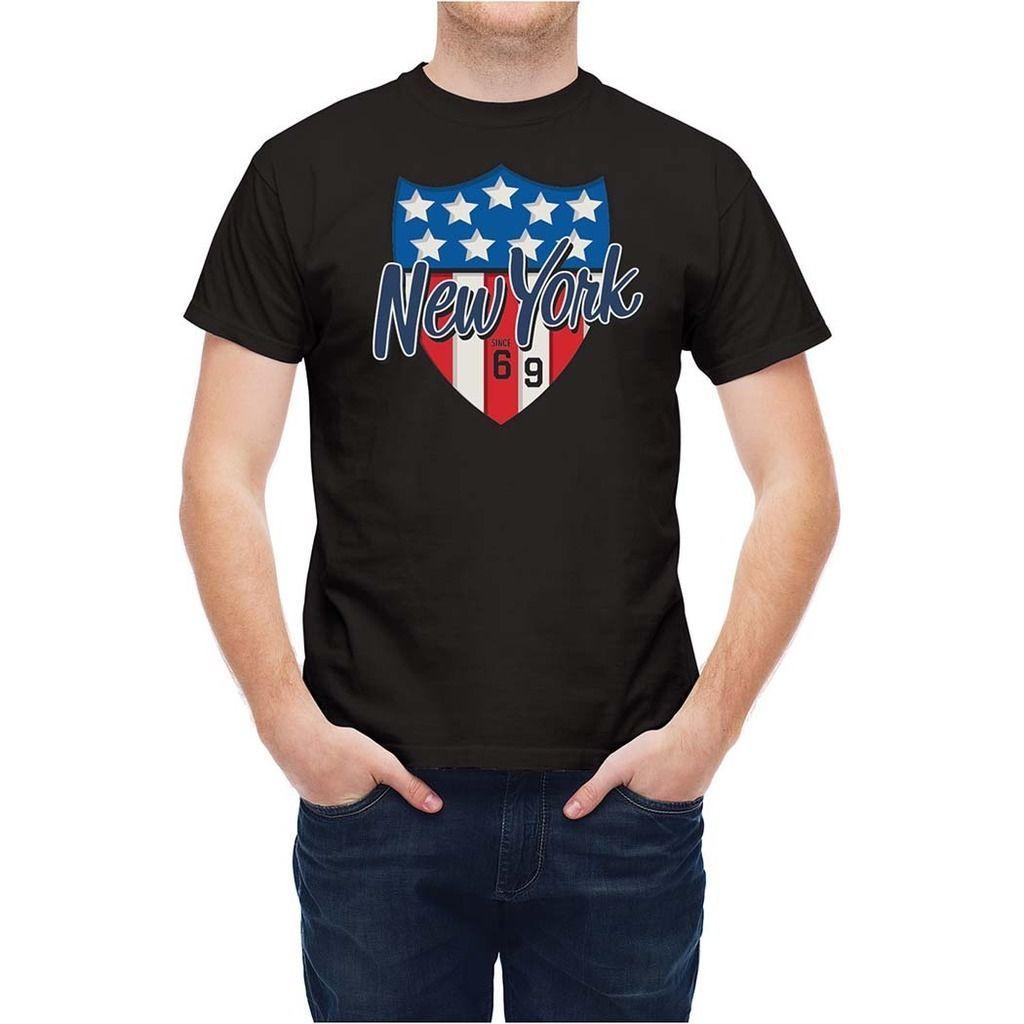 T Shirt Nyc Usa Flag Tee T255X2Short Sleeve Plus Size T Shirt Shirt Custom  T Shirts From Qqq3183389644 7be47f18809