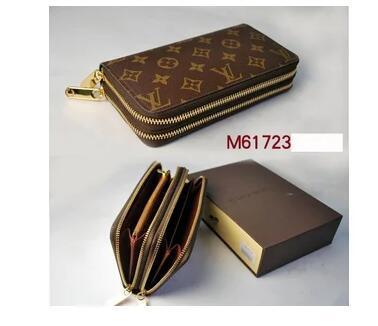 aa691ee337 LOUIS VUITTON women Men Luxury Brand Zipper Wallet Female Buckle Printing  Bag Multi Card Zipper Card Wallet Clutch Bag Coin Purse UK 2019 From  Yyzz188, ...