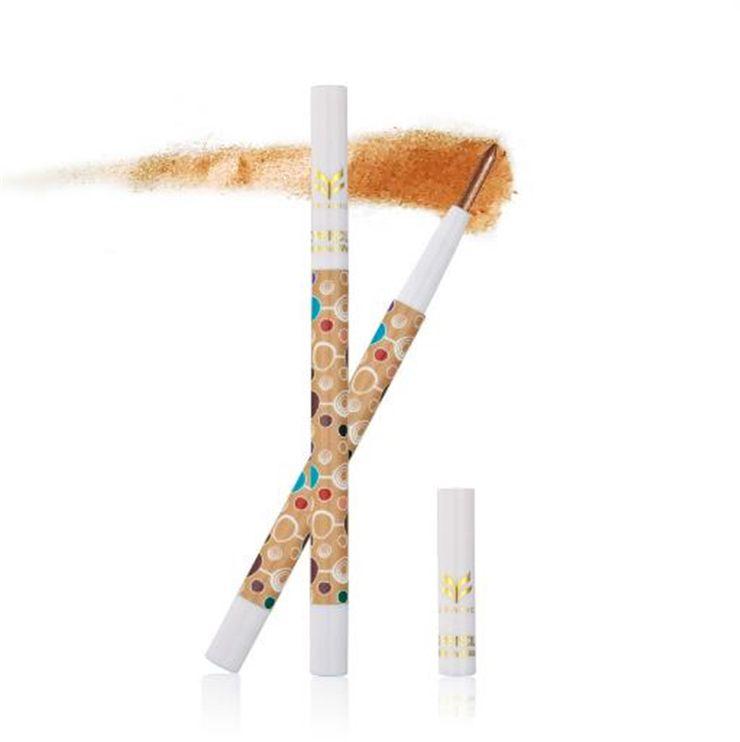 2018 HUAMIANLI eyeshadow pen single Shimmer Matte Eye Shadow Pencil Waterproof Eyes Makeup Set Cosmetics Pigment Glitter Eyeshadow