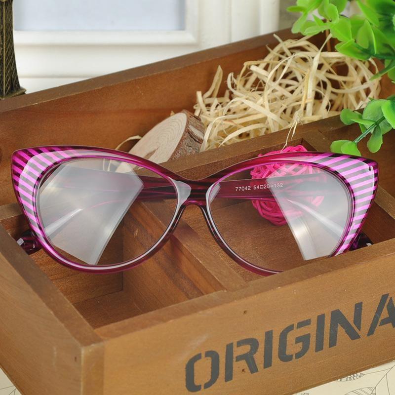 56538001cbe6d Leopard Reading Eyeglasses Frame Women Brand Plain Eye Glasses Spectacle  Cat Eye Glasses Girls Birthday Gift WQ LY Polarised Sunglasses Baby  Sunglasses From ...