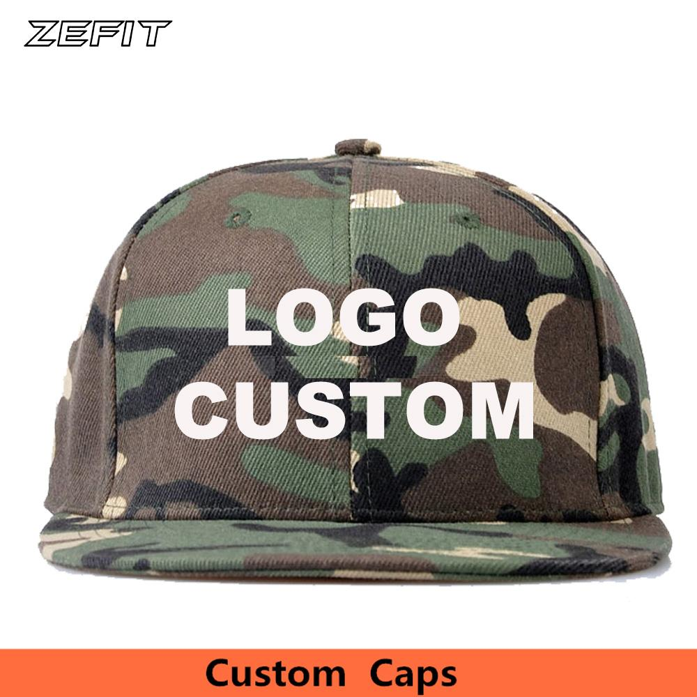 81978cad High Quality Fashion Custom 3D Embroidery Camouflage Baseball Snapback Caps  Unisex Adult Kids Free Customized Logo Made Hats Richardson Hats Headwear  From ...