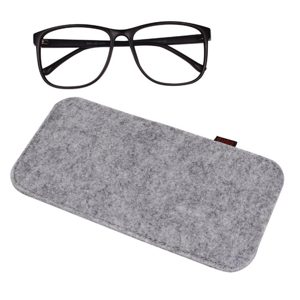 f219ec0cccd3 ful Sunglasses Case Organizer Bag For Women Men Glasses Box Felt Sunglasses  Bag Eyeglasses Cases From Creativebar