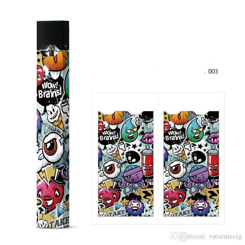 Paper Stickers For juul Vape Kit Dirt-Resistance Decoration Sticker  E-Cigarette Accessories Sticker Protection Cover For your juul