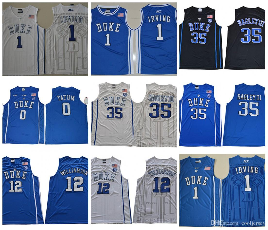 80e09ec87 NCAA Duke Blue Devils  12 Zion Williamson 1 Trevon Duval 35 Marvin ...
