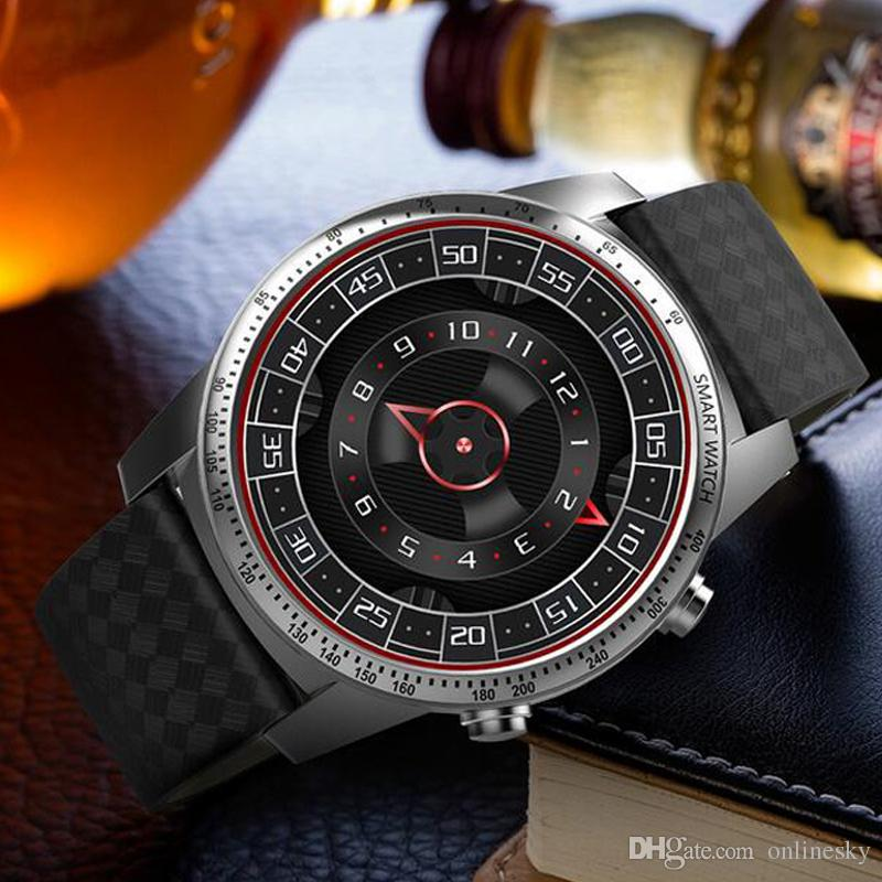 Luxury Design KingWear KW99 3G Smartwatch Phone Android 5.1 MTK6580 Quad Core 1.3GHz 8GB ROM Heart Rate Monitor GPS Pedometer