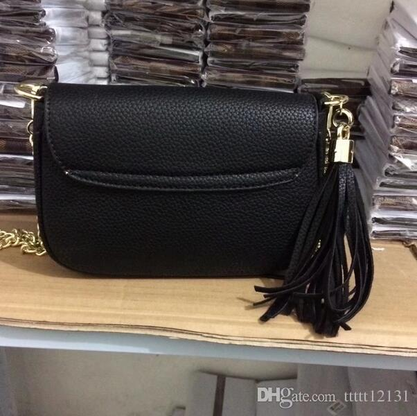 f81039a9d4 2018 Genuine Leather Cross Body Shoulder Bags For Women Girl Fashion Simple  Portable Leisure Handbag Sale Side Bags From Ttttt12131