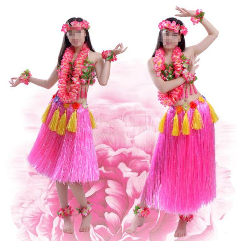 Großhandel Frau Mädchen Hawaiian Cosplay Kostüm Blume Lei Stirnband