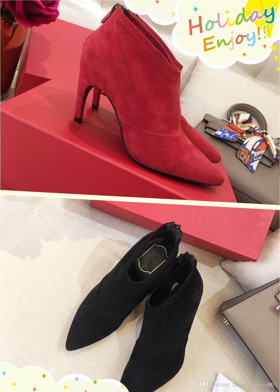 d660dbf2849 Brand Fashion Luxury Designer Women Shoes High Heel Luxury Brand ...