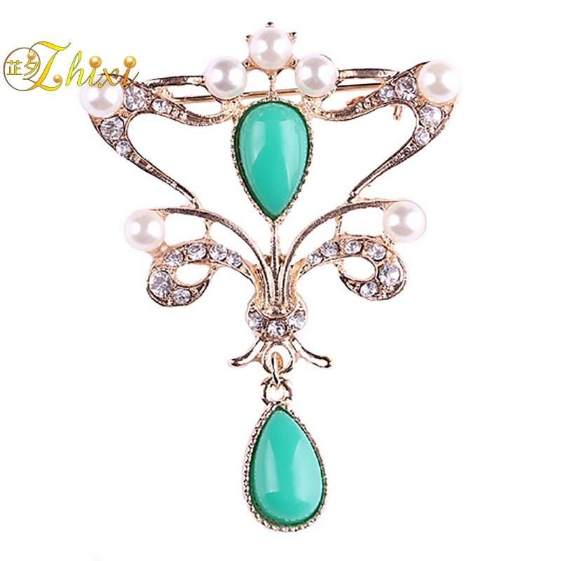 2bd86d88829 2019 ZHIXI Simple And Stylish Brooch Luxury Shiny Zircon Jewelry Brooch  Jewelry Fine Brooches Brand Trendy Party Gift For Women B92 From  Watchesgreat, ...