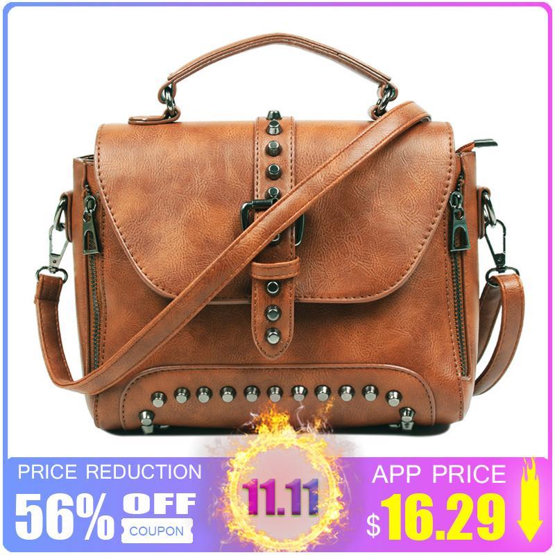 ca3f826346cf 2019 Fashion ZMQN Crossbody Bags For Women 2018 Women Messenger Bags  Leather Handbags Shoulder Vintage Bag Female Bolsas Feminina Mujer C522  Designer ...