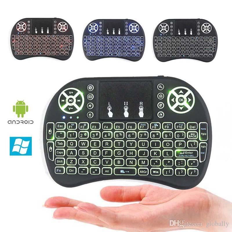7e4995f89d3 Good Quality Air Mouse I8 Mini Wireless Keyboard Portable Touchpad Android  Tv Box Remote Control Backlight Keyboards Used For Tablet XBox Cool  Keyboards ...