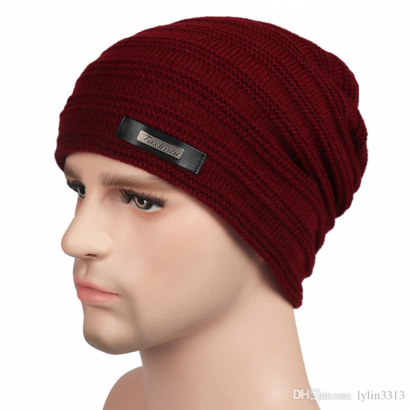 9b6f1ffb5c23d Multi Color Men Women Winter Warm Knitting Beanie Hat Ski Cap Hip Hop  Outdoor Sport Skull Caps Knit Beanie Cap Shop From Lylin3313