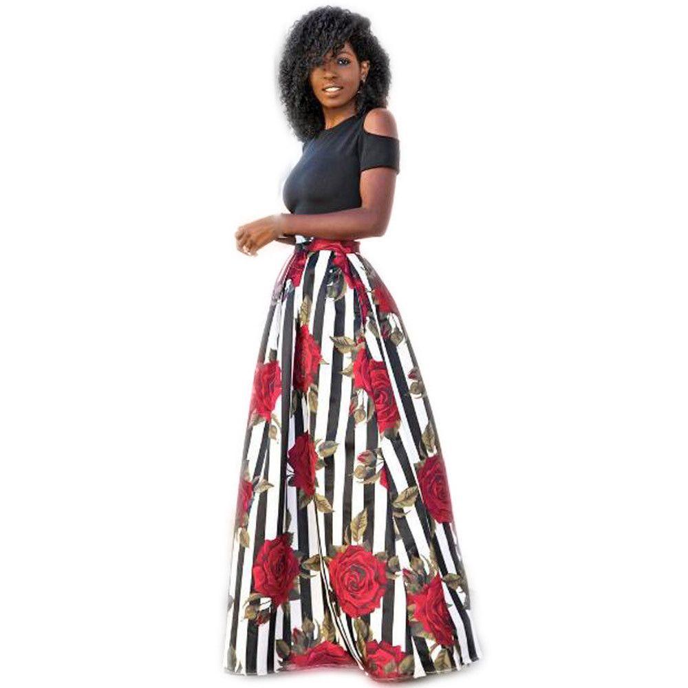 e459c1222f4 Floral Maxi Skirts Plus Size - Data Dynamic AG