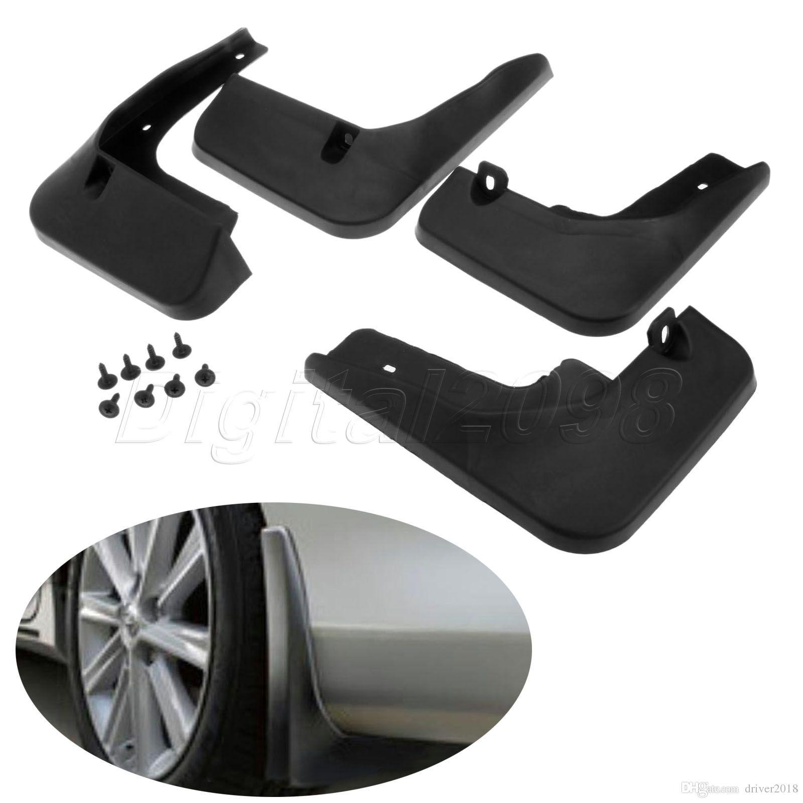 Splash Guard Car >> 4pcs Set Mudguard Splash Guards Fender Mud Flaps On Car For Toyota Camry 2012 2014 Auto Splasher Replace Accessories Car Styling