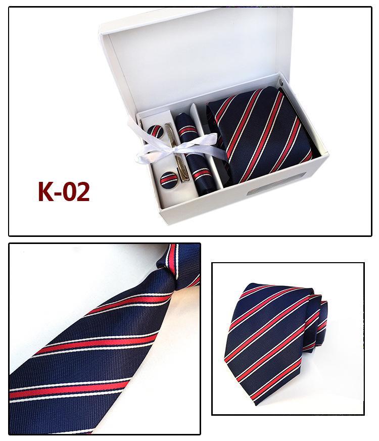 collection entière plus grand choix marque populaire Hommes étonnants Cravate Ensemble Boutons De Manchette Hankies Avec Boîte  Cadeau Emballage Hommes Cravate D'affaires Formelle Pas Cher