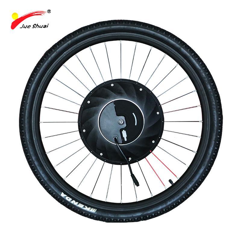 55ac9fcb9fd Compre IMortor Motor Elétrico Roda Elétrica Bicicleta Kit De Conversão Com  Bateria Tudo Em Um Eelectric Bicicleta Motor Ebike Motor Roda De  Zhanhauout