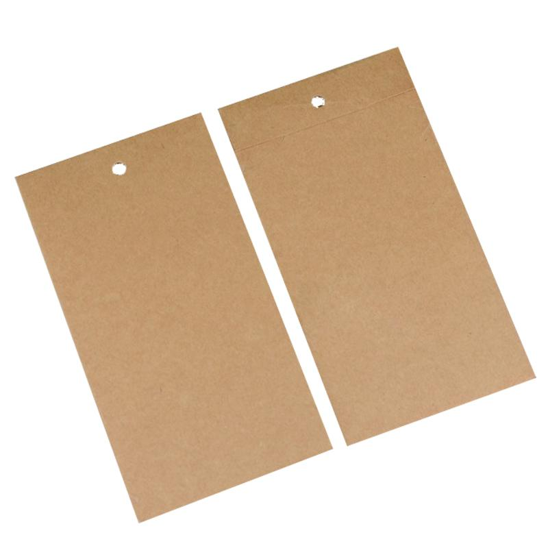 Retail Kraft Paper Packaging Box for iPhone X 8 Plus Tempered Glass Screen Protector Protective Film Packing for Samsung J5 J3