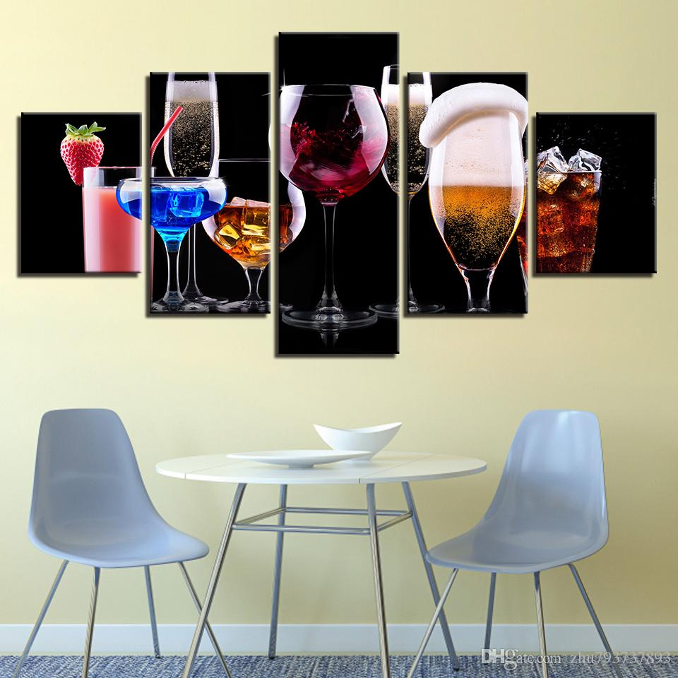 Uberlegen 2019 Pictures Home Decor Painting HD Prints Wall Art Framework Modular  Poster Colorful Beer Drinks Modern Canvas Living Room From Zhu793737893, ...
