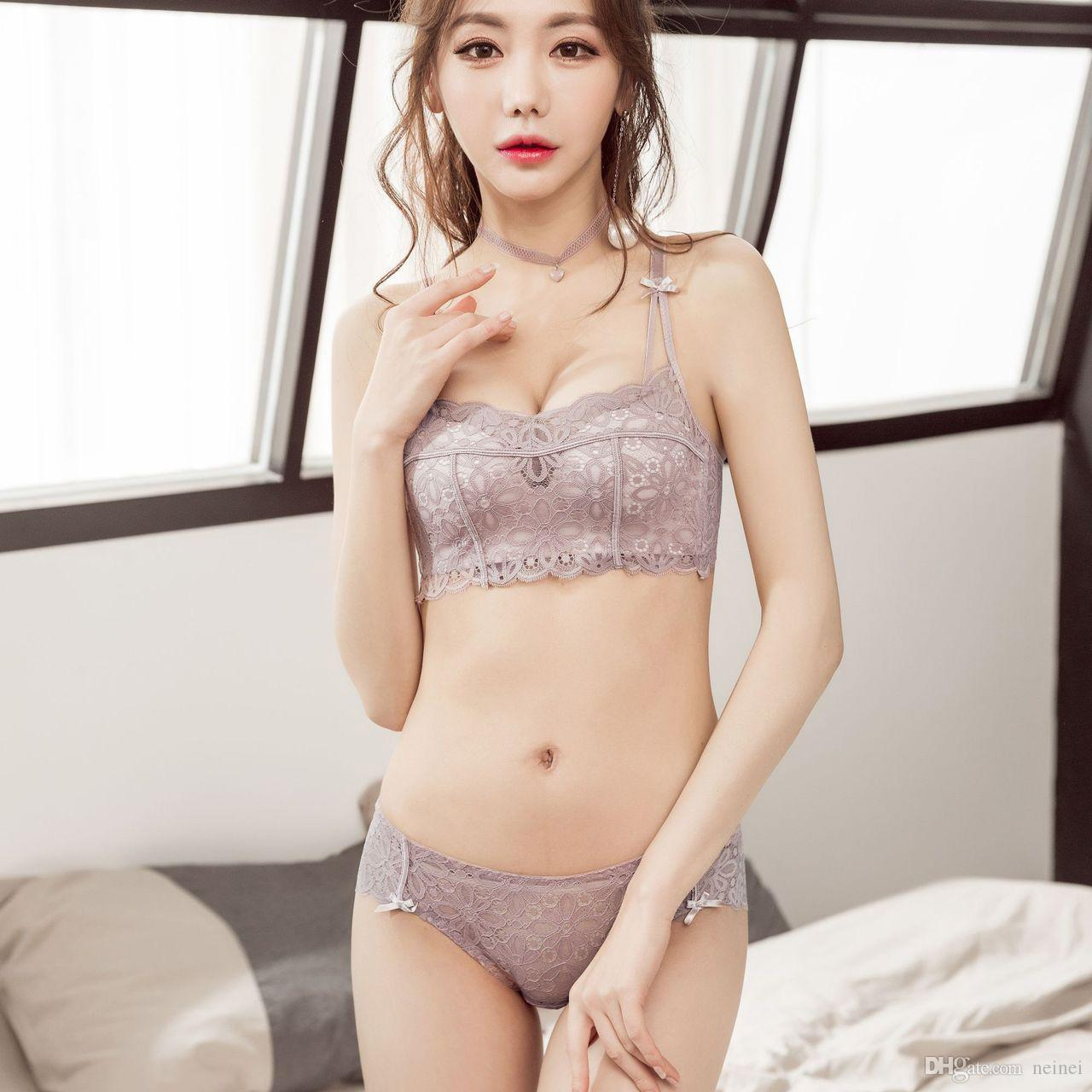 723eb0ae933 2019 Floral Lace Small Lingerie For Student