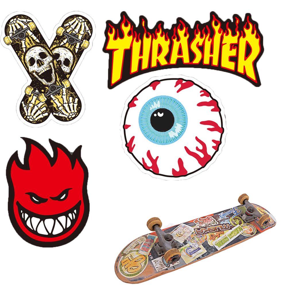 Mode Skate Skateboard Marke Aufkleber Wasserdichte Auto Skateboard Motorrad Fahrrad Gepäck Laptop Skate Aufkleber Stoßstange Graffiti Aufkleber 2