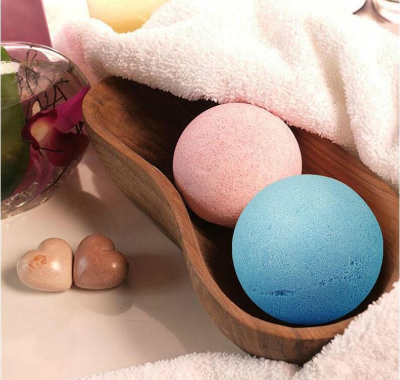 HOT Bubble Bath Bombs 40g Rose Cornflower Lavender Oregon Essential Oil Lush Fizzies Scented Sea Salts Balls Handmade SPA