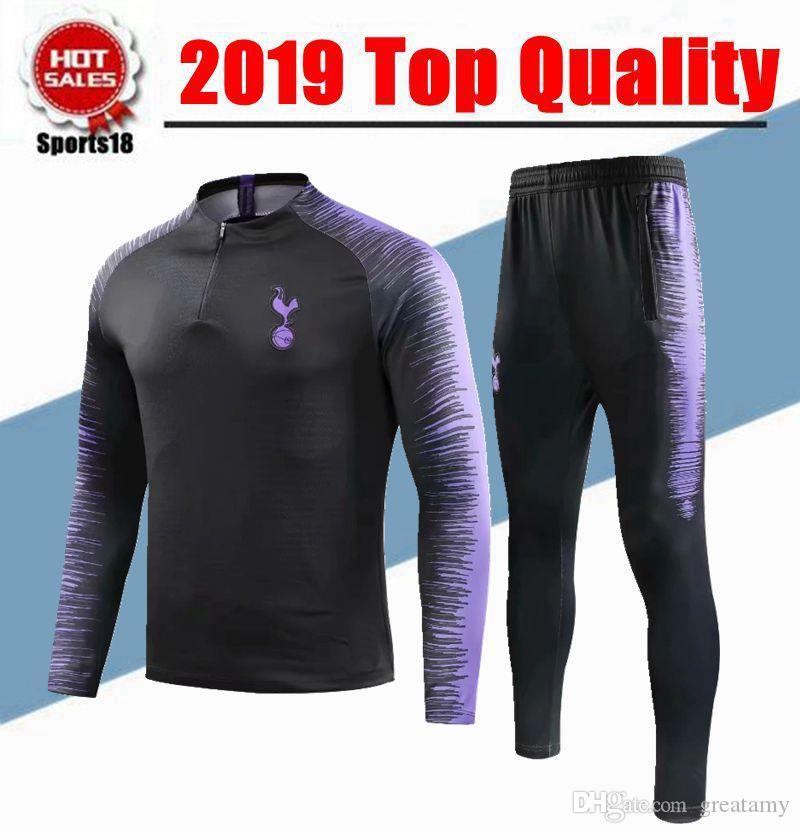 cheap for discount a8851 b37c2 2018 2019 spurs soccer tracksuit ERIKSEN KANE Training suit 18 19 ERIKSEN  SON ERIKSEN JANSSEN Football jacket kit track tracksuits