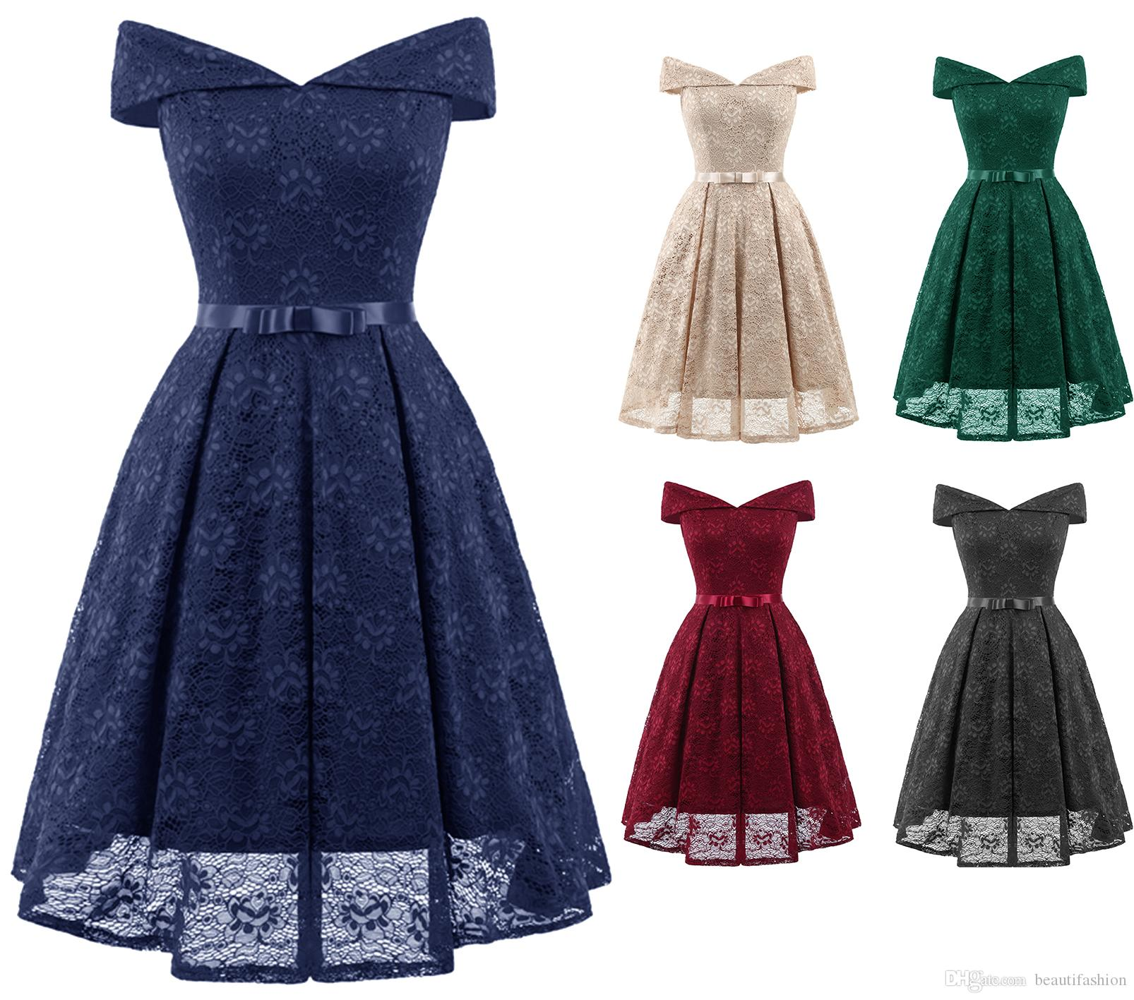Summer Vintage Cocktail Dresses