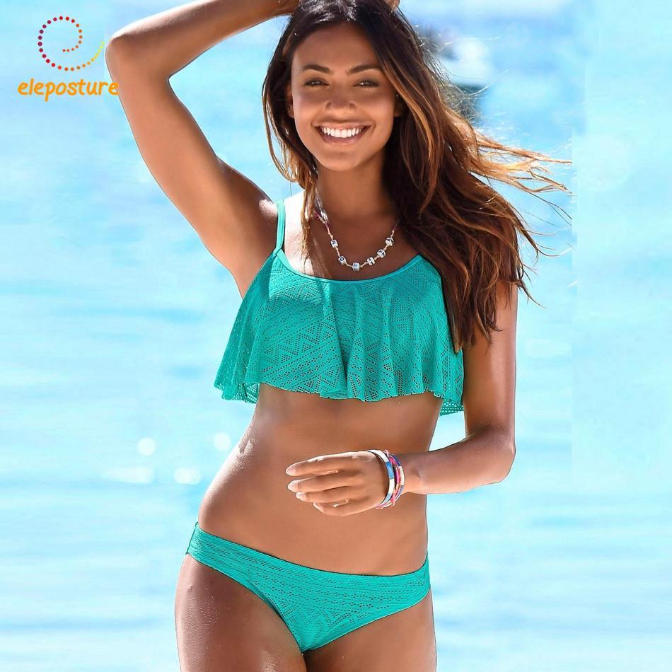 e5d7390c7ad2f 2019 2019 Sexy Bikinis Women Ruffle Bikini Swimsuit Push Up Swimwear  Brazilian Bathing Suits Beachwear Swimming Suit For Women Bikini From  Zanzibar