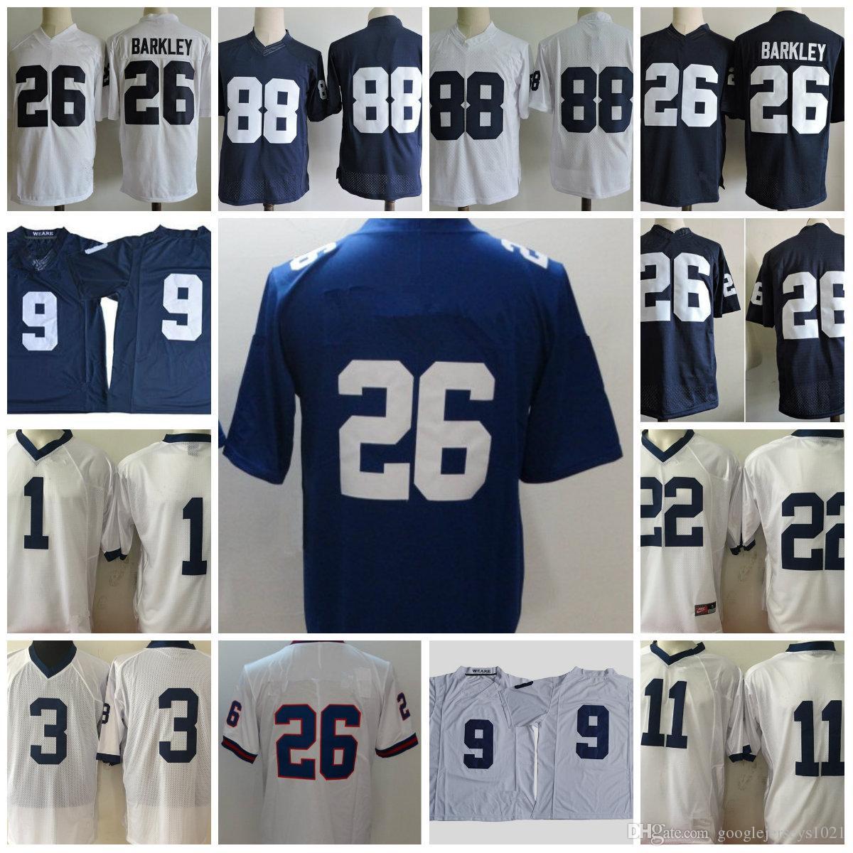 22f854be5 2018 Football NCAA Penn State Nittany Lions 26 Saquon Barkley 3 ...