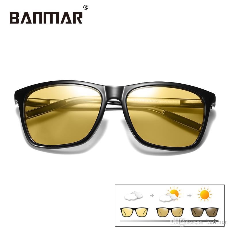 BANMAR New Driving Photochromic Sunglasses Men Polarized Chameleon  Discoloration Sun Glasses Shades Oculos De Sol Masculino 387 Photochromic  Sunglasses Men ... 0a68885ca7