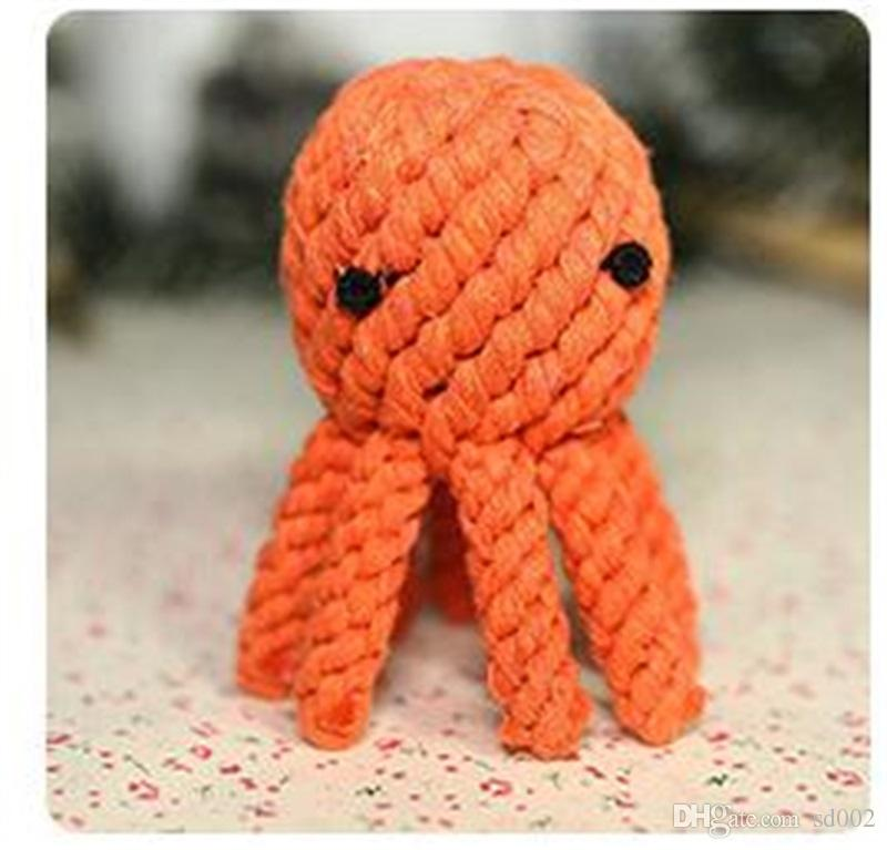 Cotton Rope Pet Molars Toy Elephant Shape Dog Chew Teether Toys Resistance To Bite Many Styles 7 8yf Z R