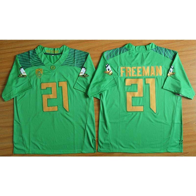 watch e4c0c b3ade Mens Oregon Ducks Royce Freeman Weebfoot 100th Rose Bowl Game American  College Football Jersey Size S-3XL